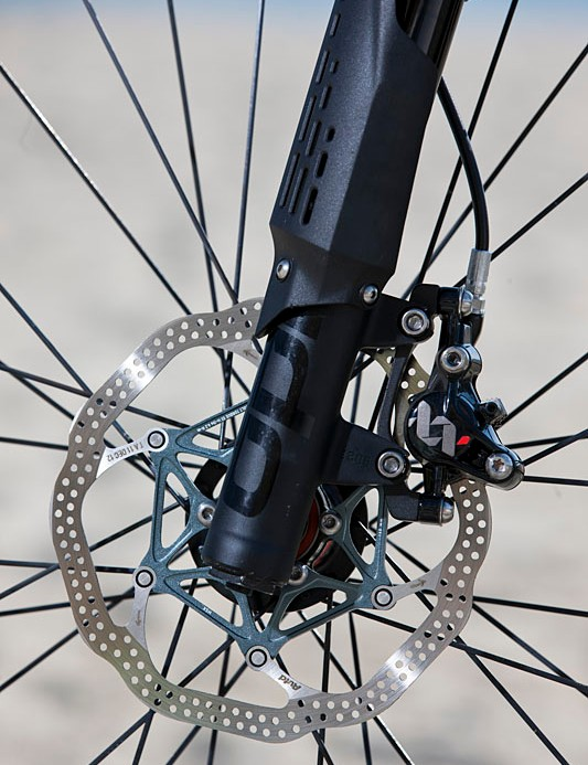 Avid XX World Cup rear brake, with 140mm rotor