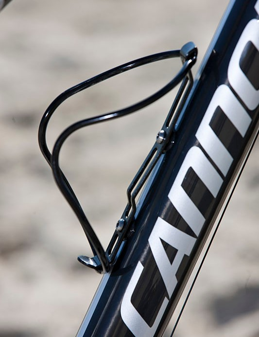 Cannondale provide his bottle cage