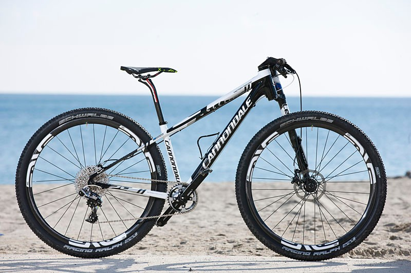 40d8f5ba29b Anton Cooper's Cannondale F29 hardtail for World Cup and other  cross-country racing. It