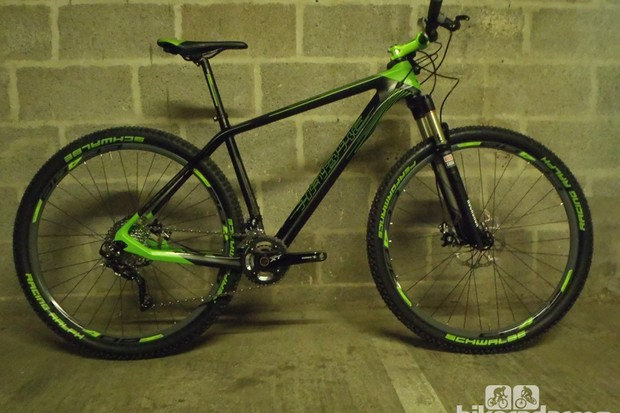 The £1,800 Haibike Light SL 29 comes with a full carbon frame, XT groupset and Reba fork, representing good value for money