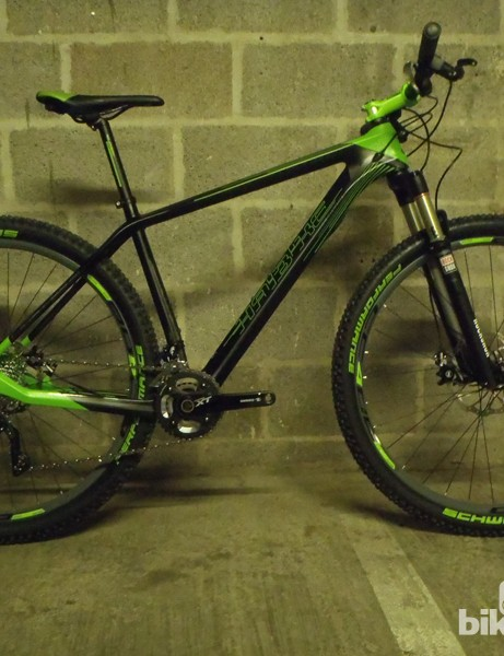 Haibike are using a 1 1/8in to 1 1/4in tapered carbon fork on the Affair SL