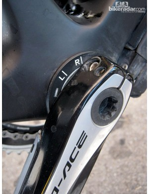 The special bottom bracket supposedly adds about 1mm of width relative to a standard Shimano bottom bracket
