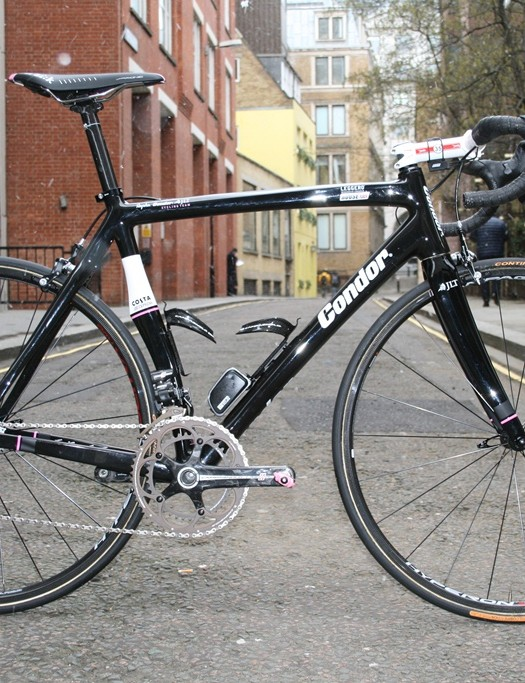 Kristian House's workhorse is the carbon Condor Leggero
