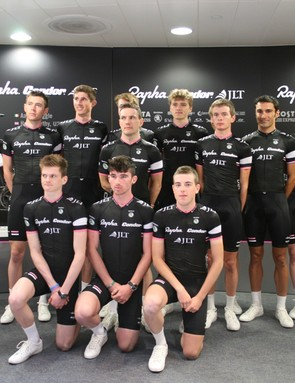 Six of the 2013 Rapha Condor JLT squad luanched today are U23 riders