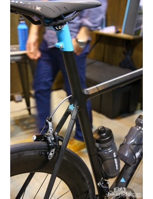 Argonaut's carbon road flagship features an integrated seatmast