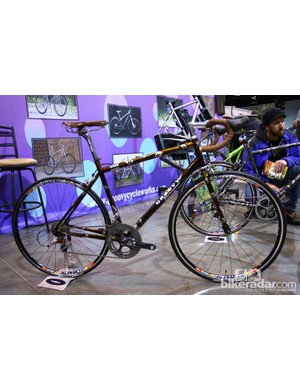 This Groovy Cycleworks road bike was finished in yet another elaborate paint job