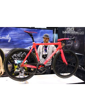 Festka Bicycle Company goes full-pink with this road bike