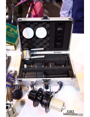 Gokiso's amazing hub - and the amazing tool kit used to service it