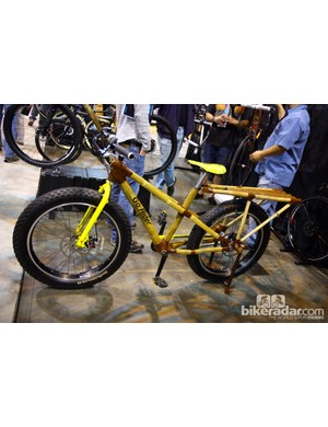 As usual, Craig Calfee brought a wide array of bamboo bikes to NAHBS