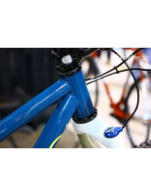 44mm-diameter head tubes are commonplace nowadays but their roots can be traced back to the handmade crowd and Sean Cheney of Vertigo Cycles