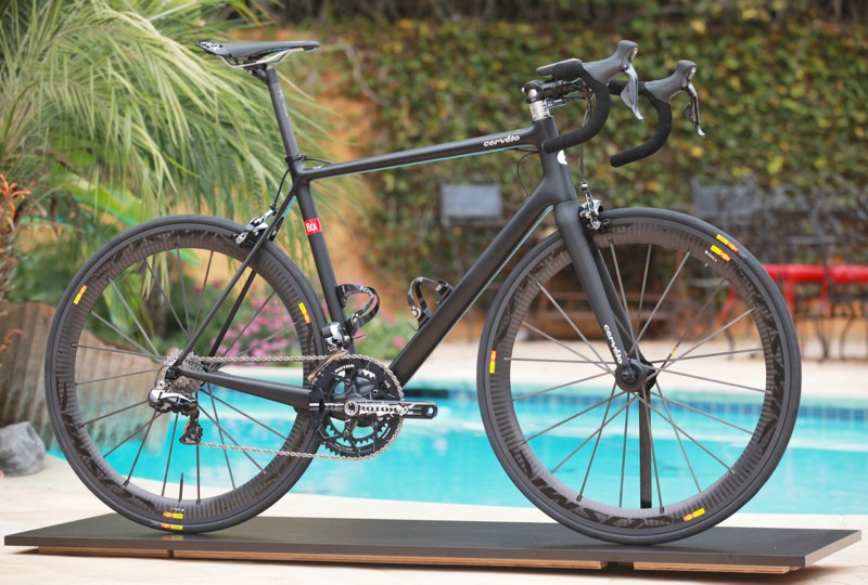 The new Cervélo RCA is US$10,000 –for the frameset alone