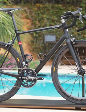 The new Cervélo RCA is US$10,000 – for the frameset alone