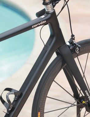 Cervélo claims the RCA is lighter and stiffer than any other product frame on the market