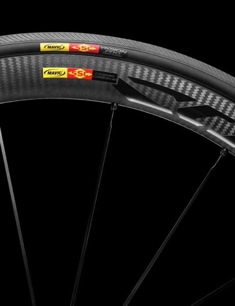 Mavic's all-new Cosmic Carbon 40 C