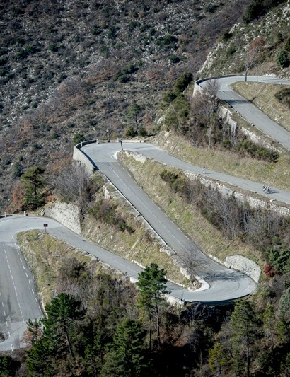 Technical descents figured into the test ride