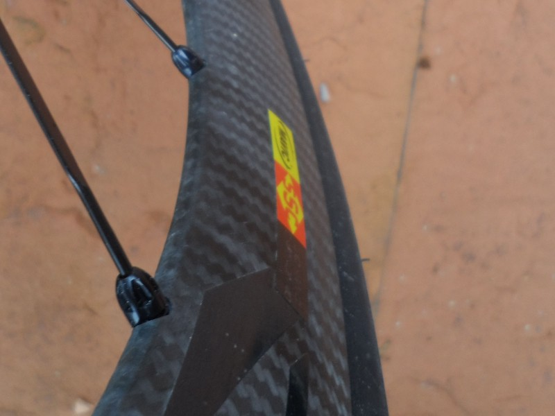 The new rim profile is distinctly more rounded on the inner edge