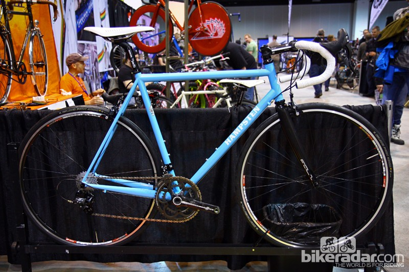Andy might be the better known of the two Hampsten brothers, but Steve produces a solid range of custom bikes, too