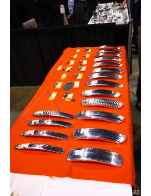 Honzo offers a wide range of hammered aluminum fenders for just about any taste