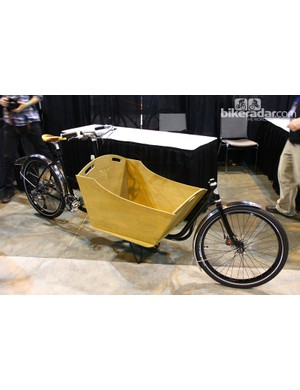 Metrofiets says its cargo bike can support up to 181kg (399lb) of rider and cargo