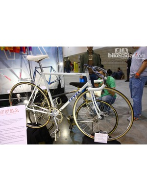 Matsuda Cycle Factory's Level track racer won the President's Choice award at this year's NAHBS