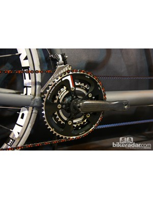 Lightning cranks are rarely seen but the design is licensed to Specialized for its FACT carbon cranks