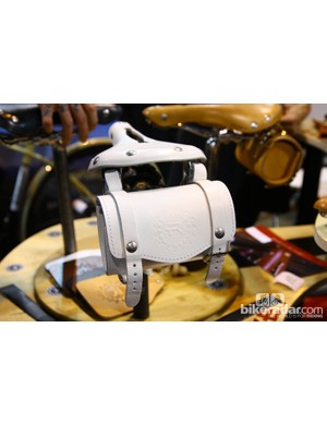 Rivet Cycle Works has added a range of leather bags to accompany its saddles. Retail price is US$75
