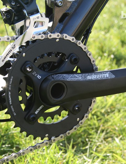 SRAM S1400 runs 38/24t rings and uses a GXP bottom bracket