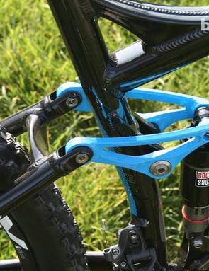 Blue linkage looks pretty swish
