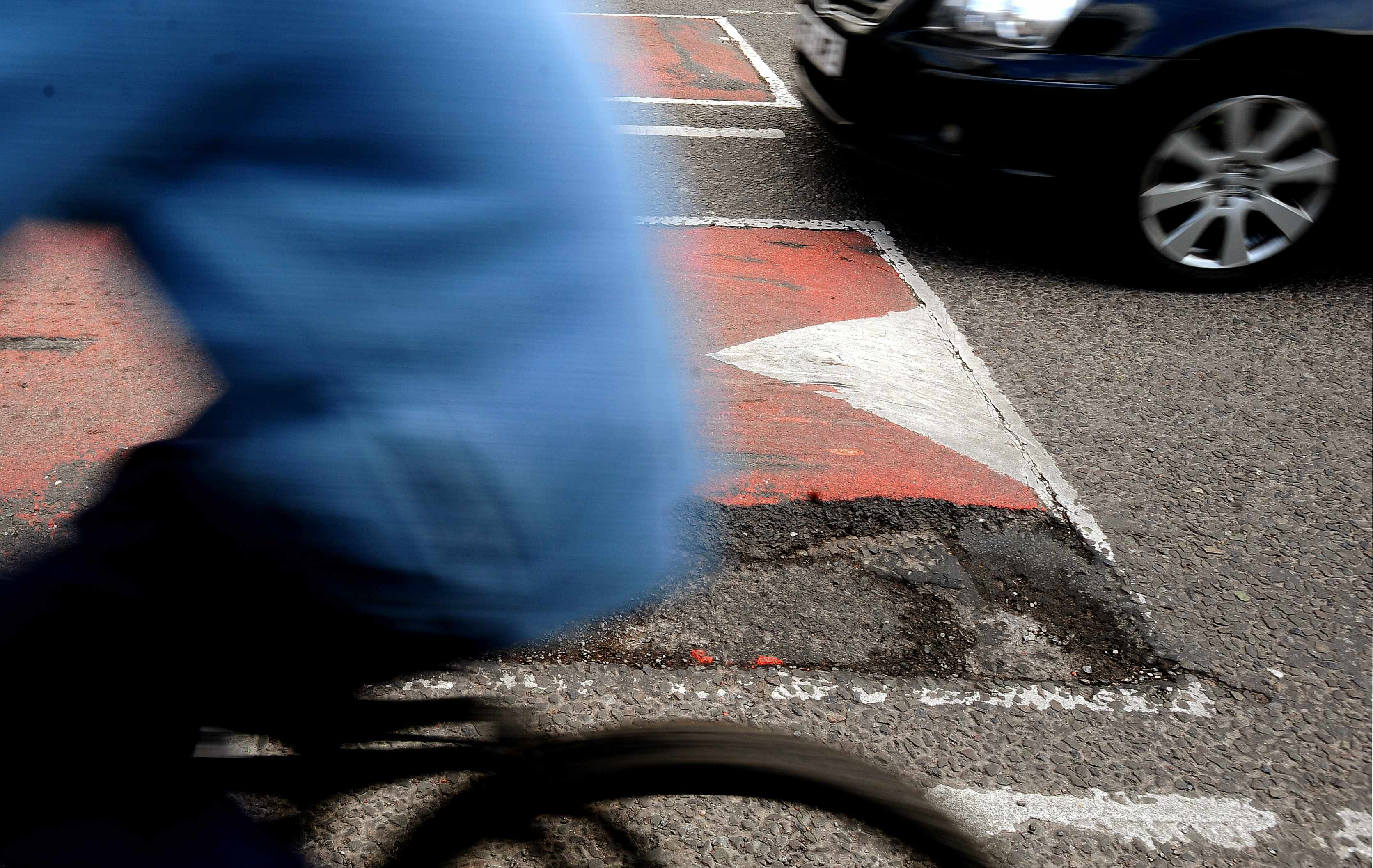 Crumbling roads: an area of common ground for cyclists and motorists