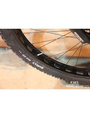 Surly Knard tires and Rabbit hole rims