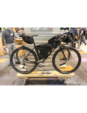 The Overlander is Cielo's new adventure touring bike
