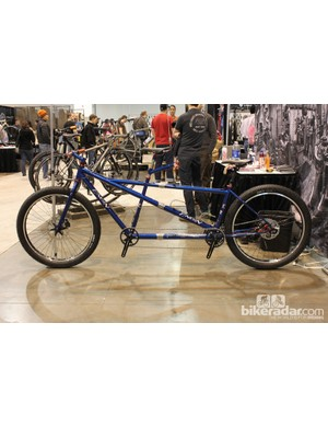 Engin's fat bike built for two