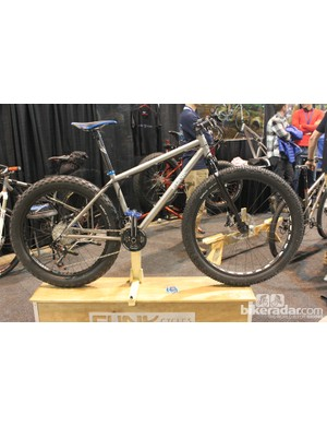 Funk had an interesting take on fat bikes with this 69er