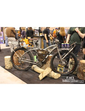 The Moots/IMBA trail care collaboration was a show favorite
