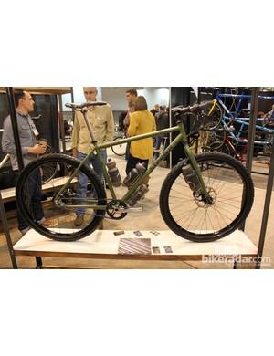 Stinner Frameworks' 29er adventure bike designed for the Tour Divide race