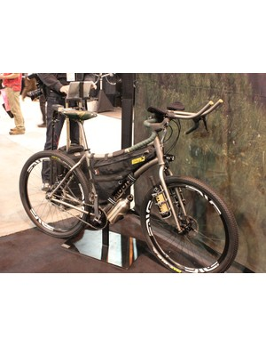Moots 29er kitted out for the ultra-endurance events such as the Tour Divide race