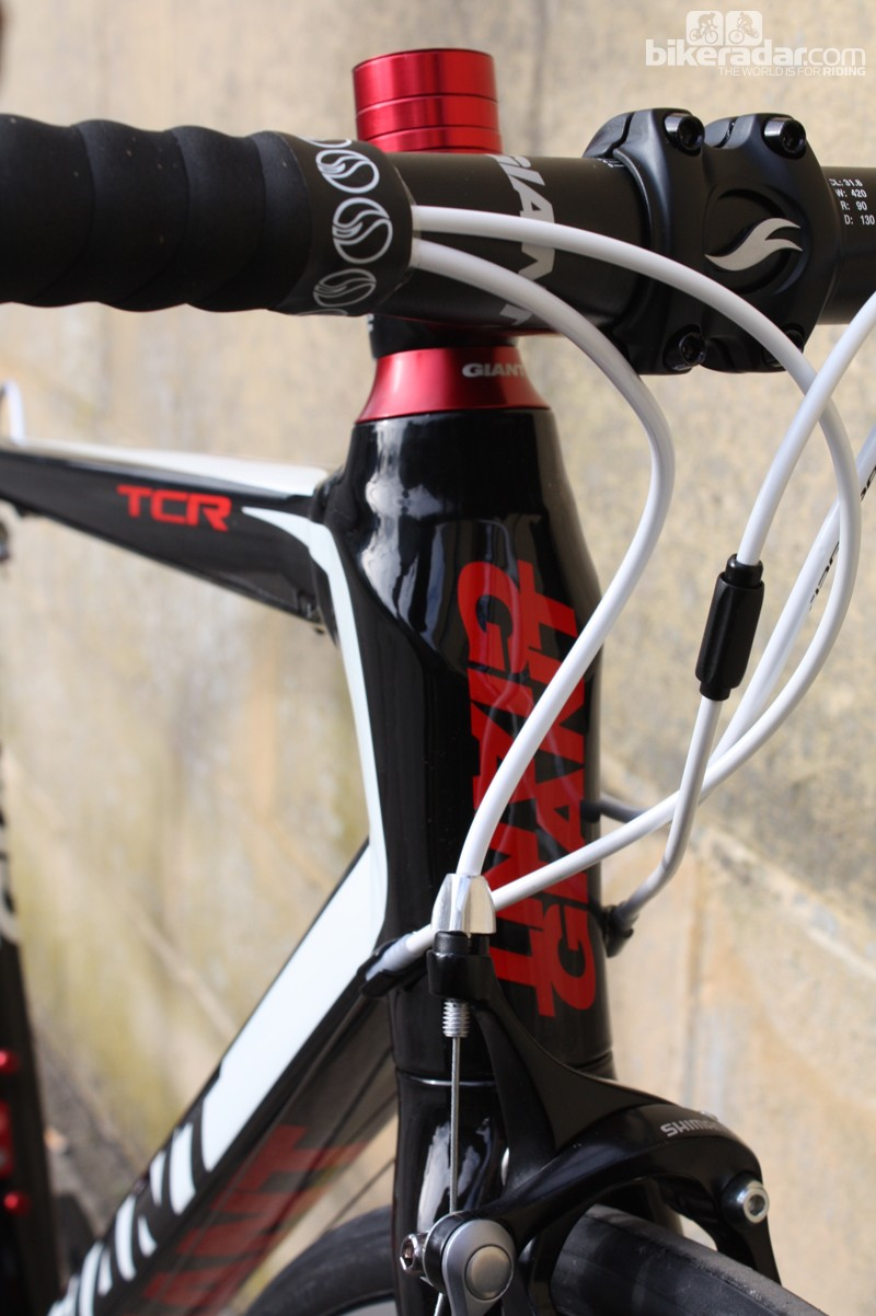An OverDrive head tube should keep things nice and stiff up front
