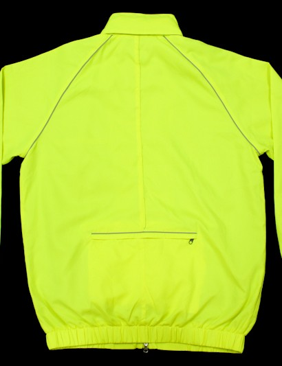 The hi-ves jacket is bright enough on its own