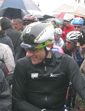Scott also debuted a new aero lid