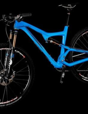 The Ripley sports 120mm of rear travel and is compatible with 120-140mm suspension forks