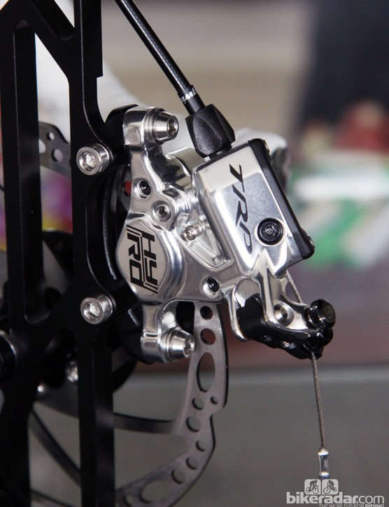 TRP's new HY/RD mechanical-to-hydraulic disc brake caliper looks to be a winner based on preliminary specs.