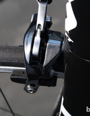 The calipers use a new dual-pivot design for powerful, equal left/right force