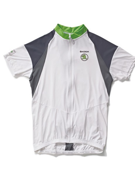 As part of Team ŠKODA you'll receive a branded jersey…
