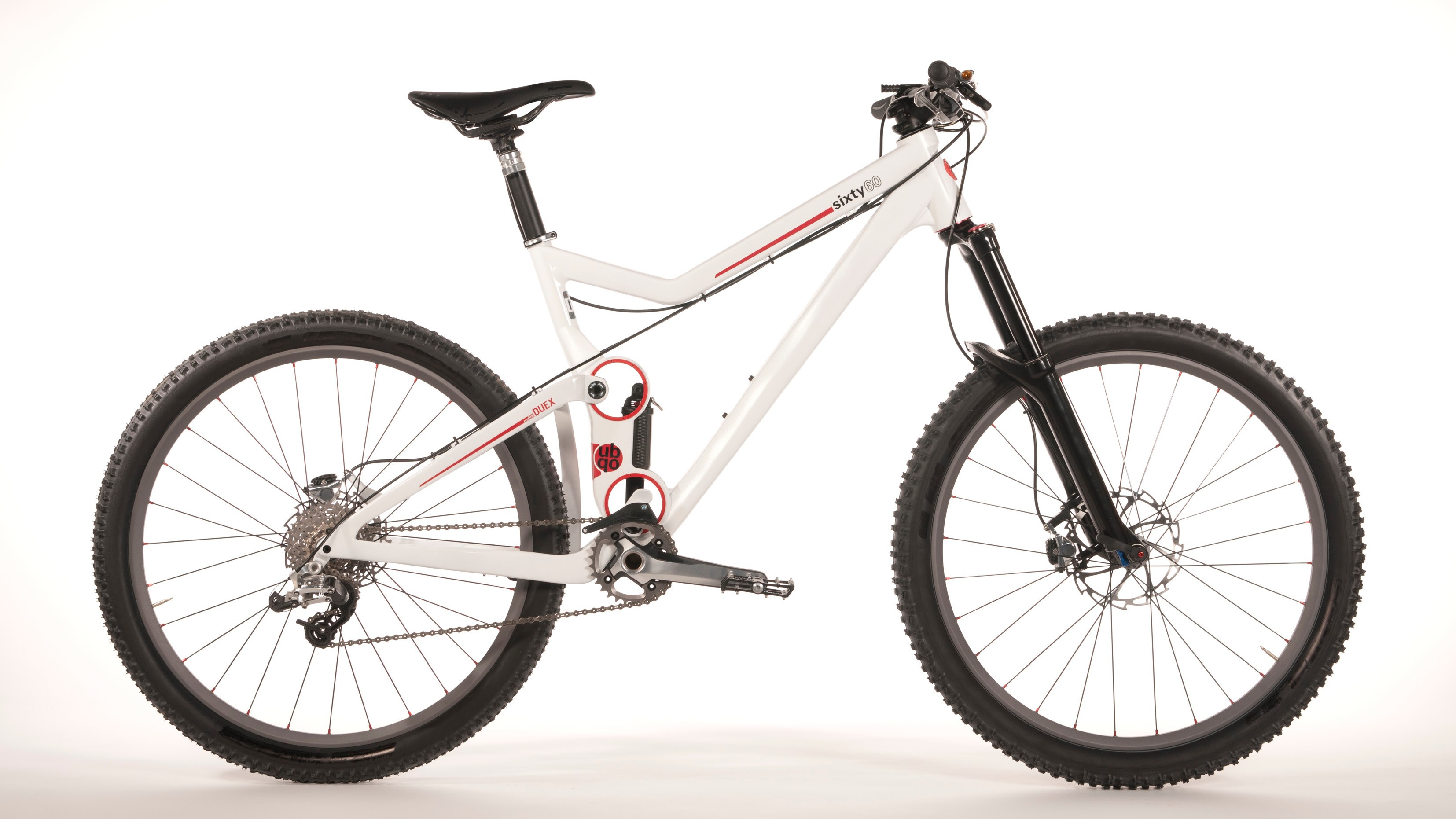 The UbQo concept aims to release pressure on traditional small suspension pivots