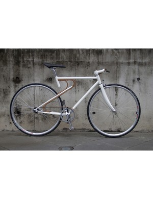 Bamboo made it into several designs, not least Yu-Yuan Lai's urban bike