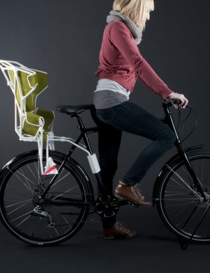 This lightweight, safety conscious child's seat was designed by Martina Staub and Lisa Nissen from Switzerland
