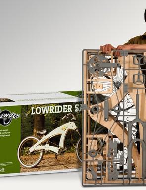 The Sawyer: the world's first plywood flatpack beach cruiser from designer Jurgen Kuipers?