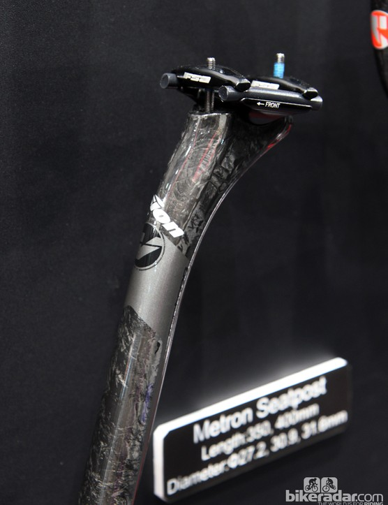The new Vision Metron carbon drop bar will be accompanied by a matching carbon seatpost although it's essentially just a rebadged FSA K-Force model