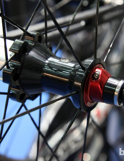 Vision's latest PRA hubs feature adjustable preload and hybrid ceramic bearings