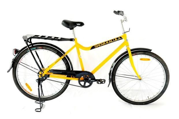 22kg of rugged bike from Qhubeka. Shova Kalula? Means 'pedal easy'